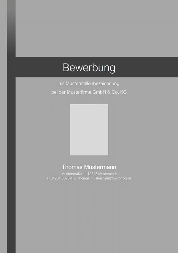 Vorlage / Muster: Deckblatt-Layout 17